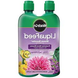 Miracle-Gro 100404 LiquaFeed Bloom Booster Flower Food, 4-Pa
