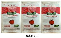 2 JOBE'S Organics Vegetable & Tomato Fertilizer SINGLE Conta
