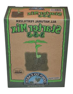 Down To Earth 3-3-3 Starter Mix Fertilizer, 5 lbs.