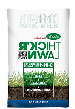 Scotts 30156 Turf Builder Thick 'R Lawn Sun and Shade-1,200