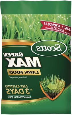 Scotts 44615A Green Max Lawn Food 5,000 sq. ft not for FL st