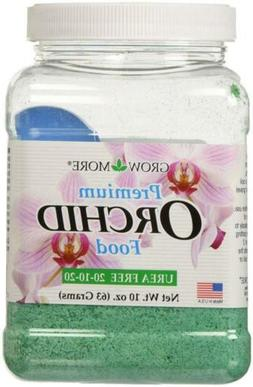 Grow More 5271 Orchid Food 20-10-20, 10-Ounce