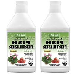 Harris 64 oz. Organic Gardening Liquid Fish Fertilizer and P