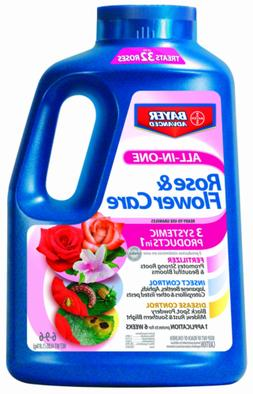 Bayer 701110A All-In-One Rose and Flower Care - 4 Lbs.