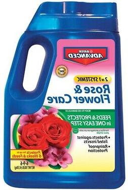BioAdvanced 708210A 2 In 1 Systemic Rose & Flower Care Plant