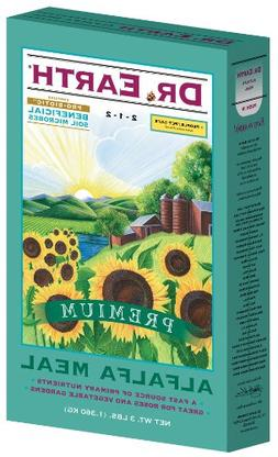 Dr Earth 720 Alfalfa Meal Organic Fertilizer, 2-1-2, 3-Lb. B