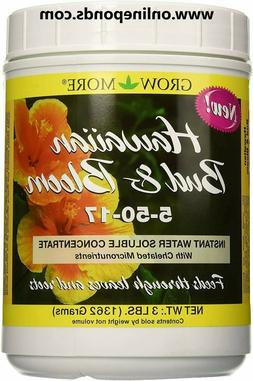 Grow More 7510 Hawaiian Bud and Bloom 5-50-17, 3-Pound