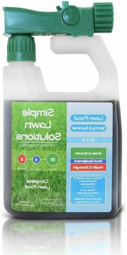 Advanced 16-4-8 Balanced Npk - Lawn Food Natural Liquid Fert