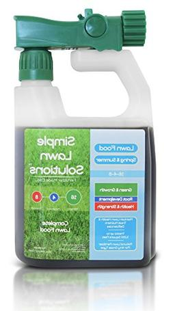 Advanced 16-4-8 Balanced NPK- Lawn Food Natural Liquid Ferti