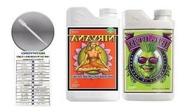 Advanced Nutrients Big Bud and Nirvana with Conversion Chart