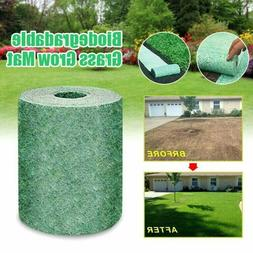 Biodegradable Grass Seed Mat Fertilizer Garden Lawn Planting
