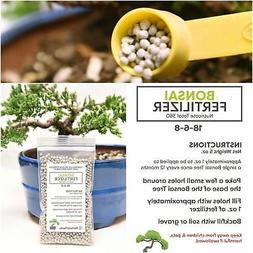 Bonsai Fertilizer Pellets by Perfect Plants - 5 Year Supply