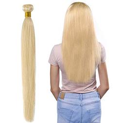 Brazilian Virgin Hair Bundles #613 Blonde Human Hair Weave E