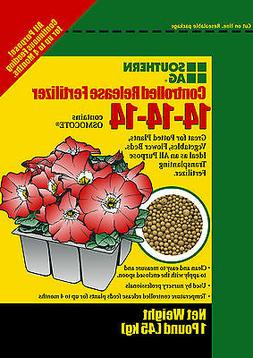 Controlled Release Fertilizer 14-14-14 1 lb. Contains Osmoco