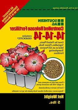 SOUTHERN AG CONTROLLED RELEASE FERTILIZER 14-14-14, Contains