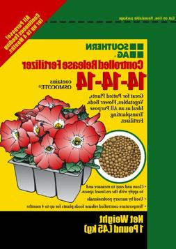 Controlled Release Fertilizer 5lb 14-14-14 Contains Osmocote