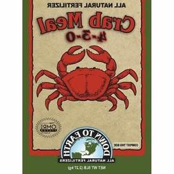 Down to Earth Crab Meal Fertilizer, 5 lb.