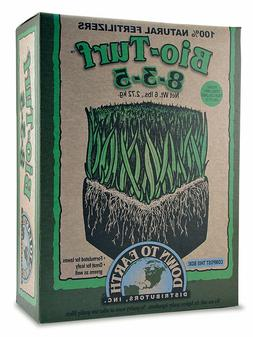 Down To Earth Bio-Turf 8-3-5 All Natural Fertilizer in 6 lb.