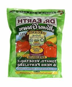 Dr. Earth Organic 5 Tomato, Vegetable & Herb Fertilizer Poly