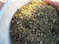 Dried Sheep Manure - Composted - THREE  Pounds - Crushed Man