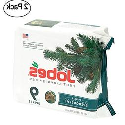 Jobe's Evergreen Fertilizer Spikes 11-3-4 Time Release Ferti