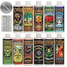 FoxFarm & Bushdoctor Liquid Nutrient Kit 11 Pack Bundle  + T