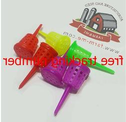 GARDEN TURNOVER FLOWER TOOL MIXED COLOR 1000 PCS ORCHID FERT