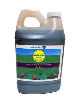 Grassna All-in-One Liquid Lawn Fertilizer, Product of USA