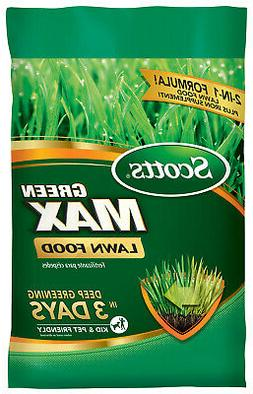Scotts Green Max 16.9 Lb Lawn Fertilizer (27 Percentage- 0 P