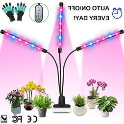 Grow Light, Auto ON & Off Every Day with Two-Way Timer, 36W