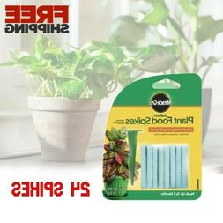 Plant Fertilizer Spikes Indoor Outdoor Food Sticks Potted He