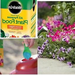 Instantly Feeds to Grow bigger, More Beautiful Garden Plants