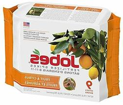 Jobe's 9 Count Fruit and Citrus Trees Fertilizer Spikes