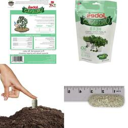 Jobe'S Organics 06127 Herb Fertilizer, 50 Spikes Grey