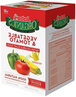 Jobe's Organics Vegetable & Tomato Fertilizer, 3-1-2 Water