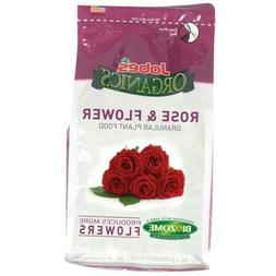 jobes 09423 organics flower and rose granular