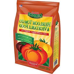 Jobes 8 lb. Organic Heirloom Tomato and Vegetable Plant Food