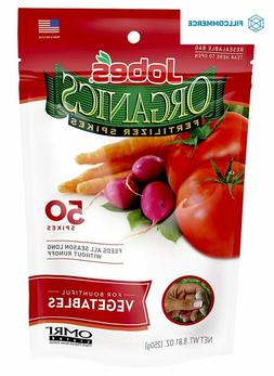 Jobe's Organics 50ct. Vegetable and Tomato Spikes