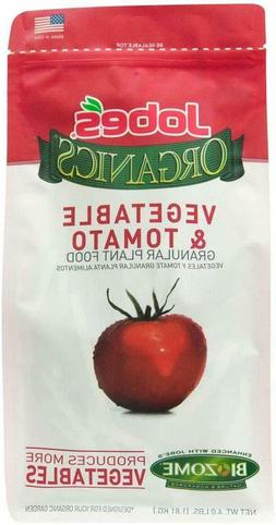 Jobe's Organics 9026 Fertilizer, 4 lb | Tomato & Vegetable