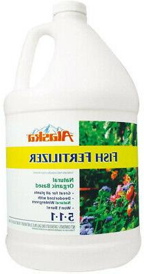 1 Gallon Fish Fertilizer Organic All Season Fast Release Nat