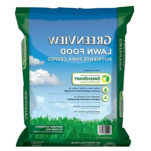 16 lbs lawn food fertilizer grass garden