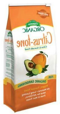 4 LB 5-2-6 Citrus-Tone All Natural For All Citrus Fruit and