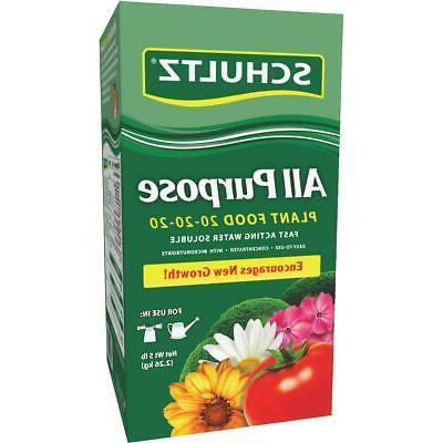 Schultz SPF70690 5# All Purpose Water Soluble Plant Food 20-