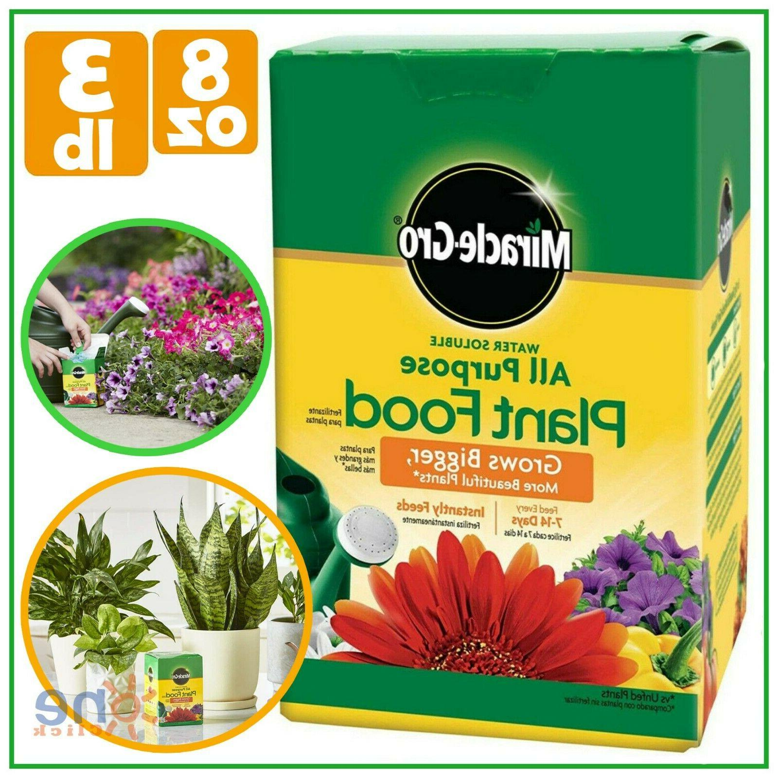Miracle Gro All-Purpose Plant Food Houseplant Grow Flowers G
