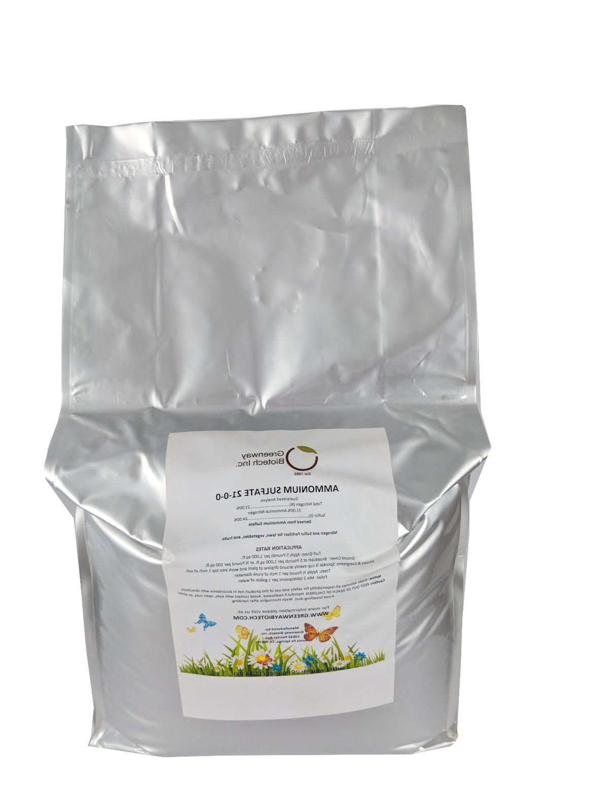 ammonium sulfate 0 fertilizer