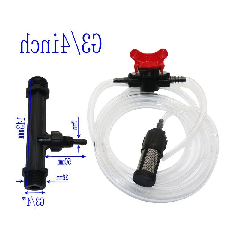Automatic <font><b>Kit</b></font> 1/2' Or Irrigation Water With Flow Control Metal mesh filter Pcs