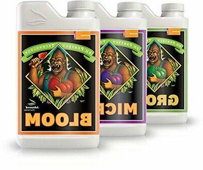 bloom micro and grow pack of 3