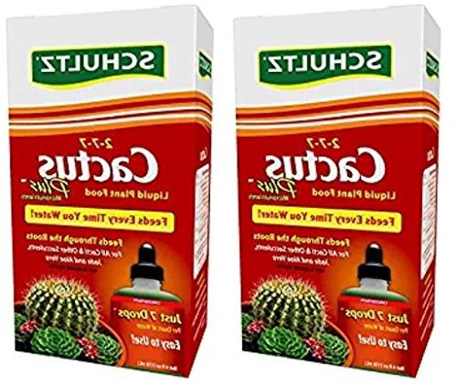 cactus plus liquid plant food