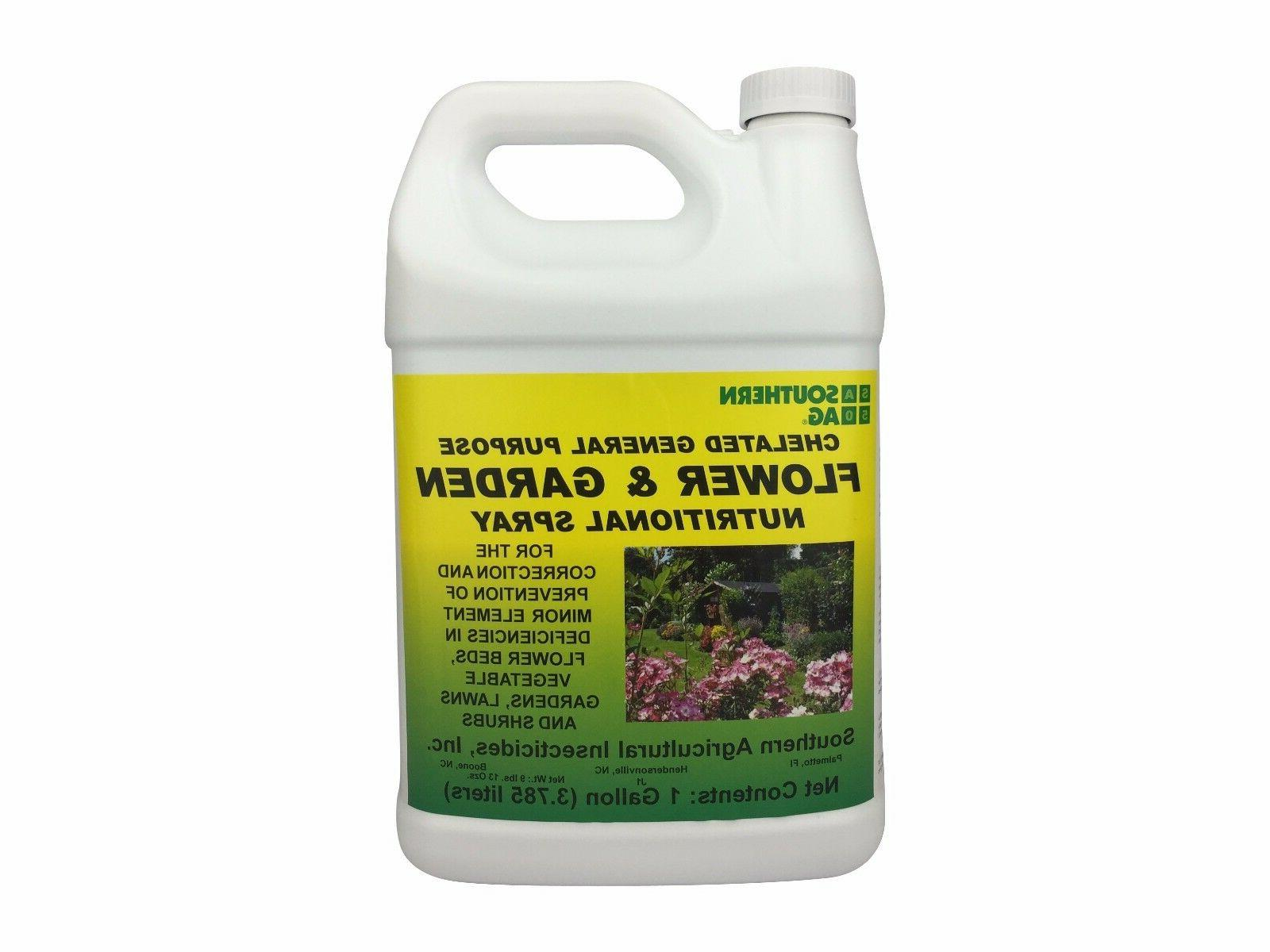 chelated general purpose flower and garden nutritional