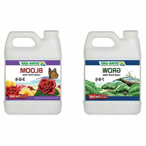 dyna gro liquid grow and bloom fertilizer